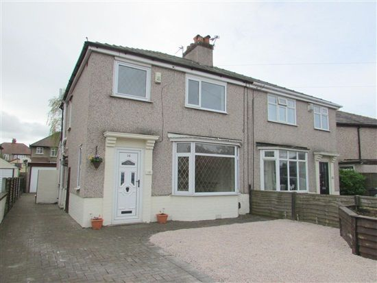 Thumbnail Property to rent in Warley Avenue, Morecambe