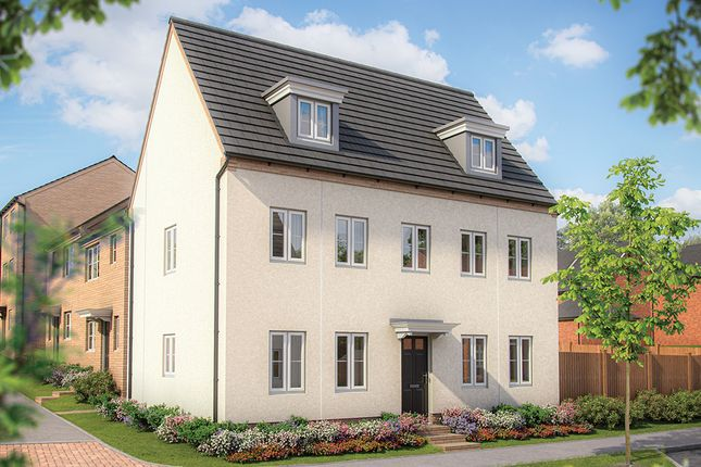 "Thumbnail Detached house for sale in ""The Warwick"" at Irthlingborough Road, Wellingborough"