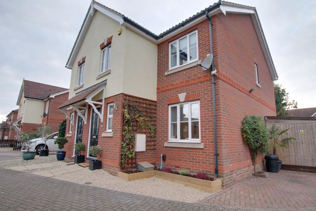 Thumbnail Semi-detached house for sale in Marcus Close, Colchester