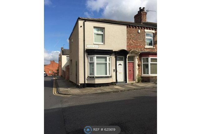 Thumbnail End terrace house to rent in Vicarage Avenue, Stockton-On-Tees