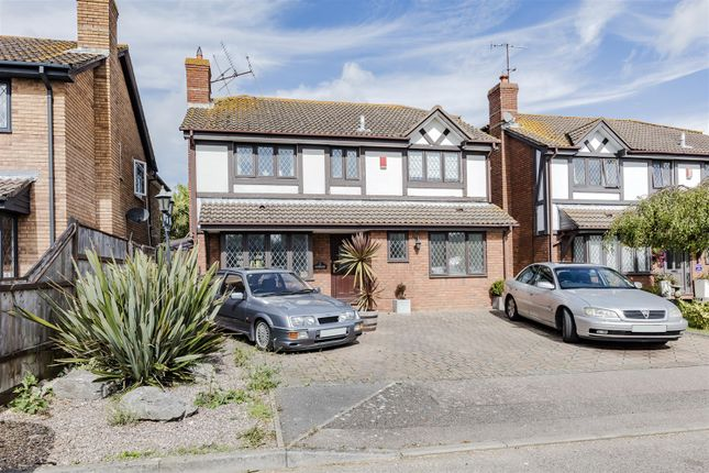 Thumbnail Detached house for sale in Gatcombe Close, Worthing, West Sussex