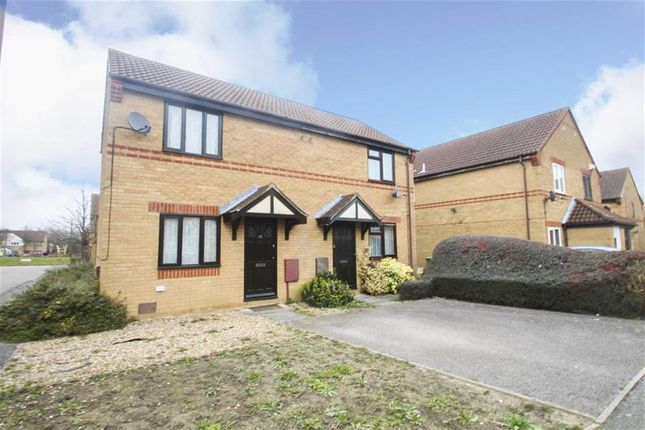 Thumbnail Semi-detached house to rent in Millbank Place, Kents Hill, Milton Keynes