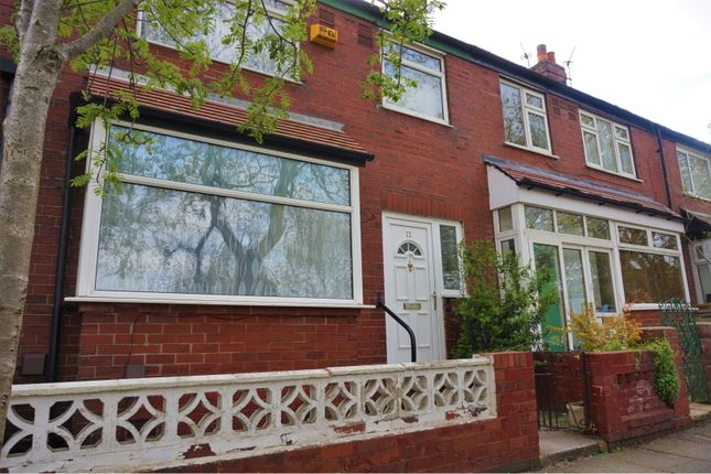 Thumbnail Terraced house for sale in Lincoln Avenue, Manchester