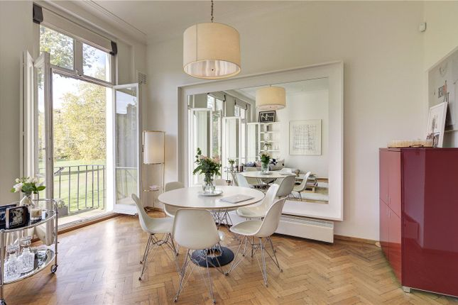 Dining Area of Warrington Crescent, Little Venice, London W9