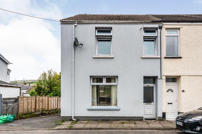 Thumbnail End terrace house for sale in Gethin Street, Abercanaid, Merthyr Tydfil