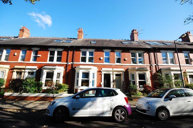 Thumbnail Terraced house to rent in Albury Road, Newcastle Upon Tyne