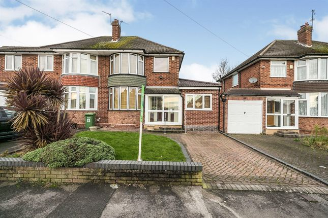 4 bed semi-detached house for sale in Norgrave Road, Solihull B92
