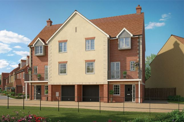 Thumbnail Semi-detached house for sale in Piper Lane, Wixams, Bedford