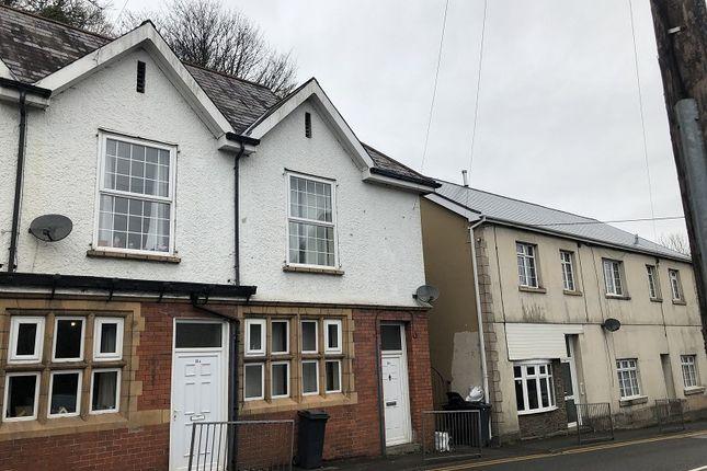 Thumbnail End terrace house to rent in Swansea Road, Pontardawe, Swansea