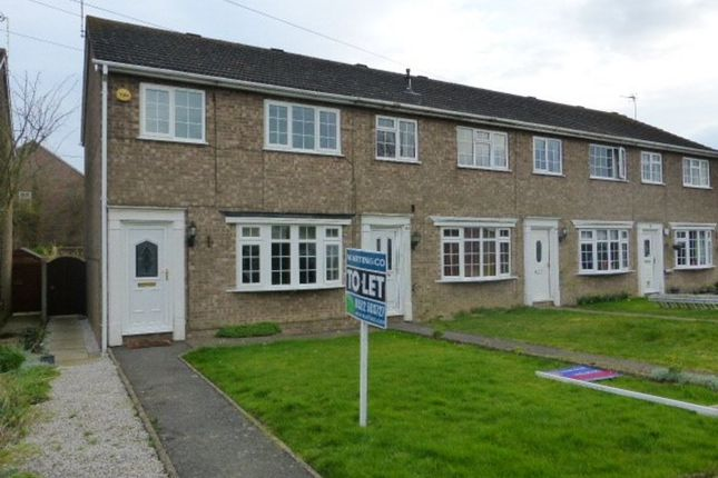 Thumbnail End terrace house to rent in St. Marys Avenue, Welton, Lincoln