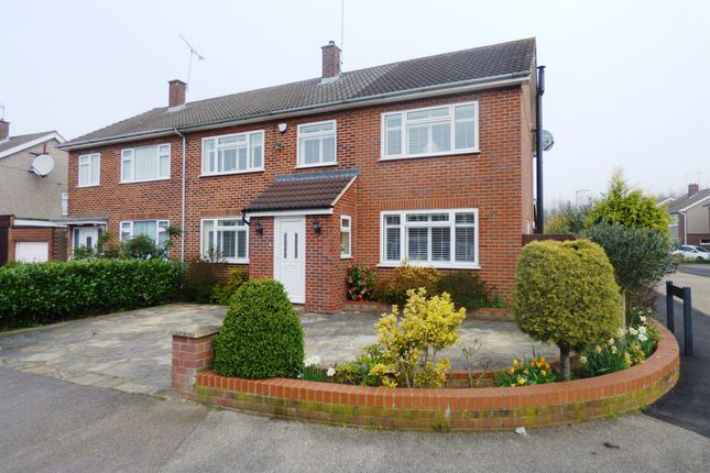 Thumbnail Semi-detached house for sale in Heath Drive, Ware