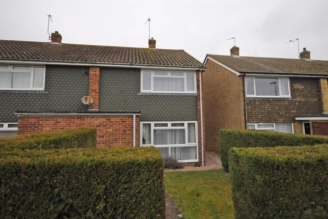 Thumbnail End terrace house to rent in Harmers Hay Road, Hailsham