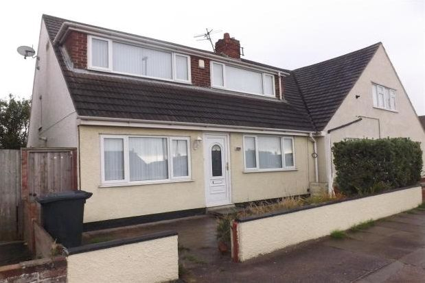 Thumbnail Semi-detached bungalow to rent in Foryd Road, Kinmel Bay, Rhyl