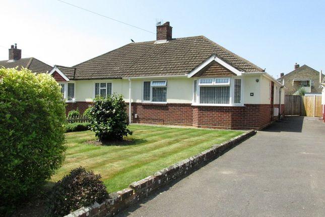 Thumbnail Semi-detached bungalow for sale in Fareham Road, Gosport