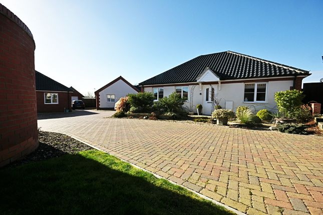 Thumbnail Detached bungalow for sale in Glebe Drive, Roydon, Diss