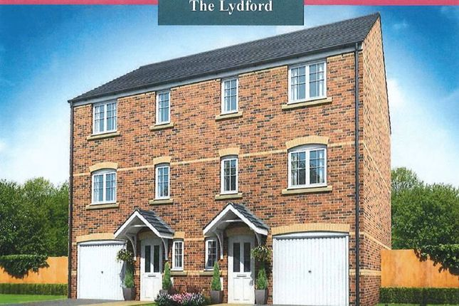 Thumbnail Town house for sale in The Lydford, Woodlands, Mottram Road, Stalybridge