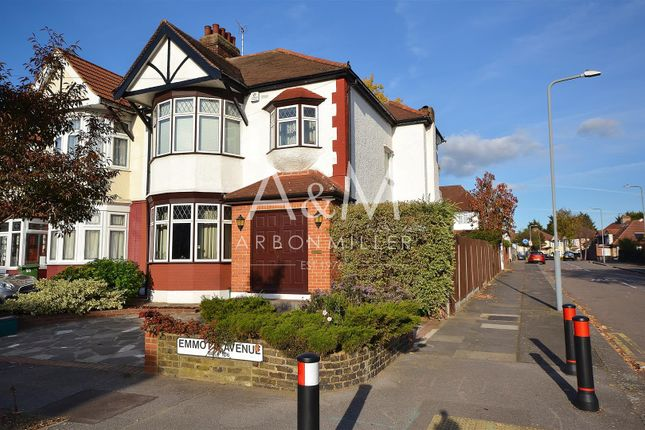 Thumbnail Semi-detached house for sale in Emmott Avenue, Ilford