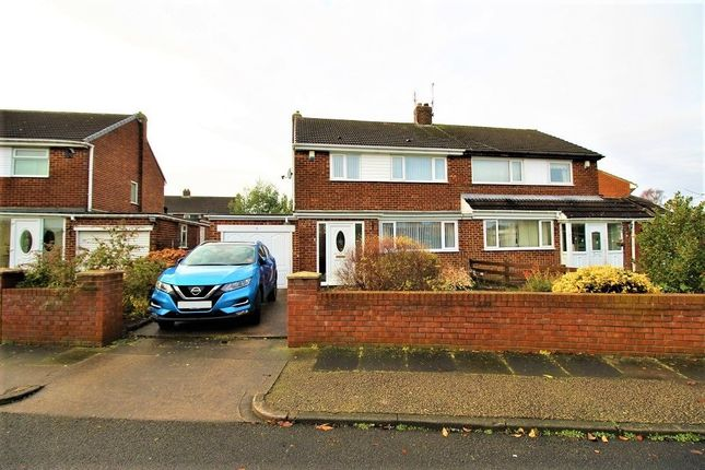 Thumbnail Semi-detached house for sale in Raby Drive, Sunderland, Tyne And Wear