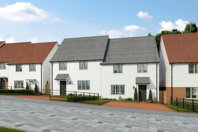 Thumbnail Semi-detached house for sale in Stockwood Meadow, Staplecross, East Sussex