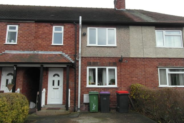 3 bed terraced house to rent in Cranage Crescent, Wellington, Telford