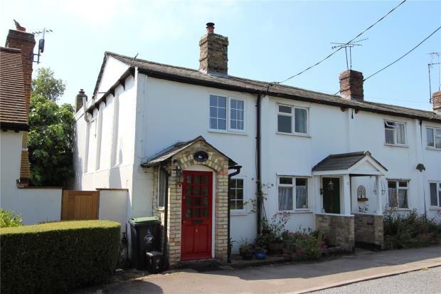 Thumbnail End terrace house for sale in Manor Row, Elmdon, Saffron Walden, Essex