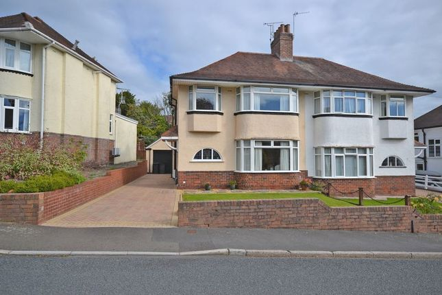 Thumbnail Semi-detached house for sale in Spacious Semi-Detached House, Redbrook Road, Newport