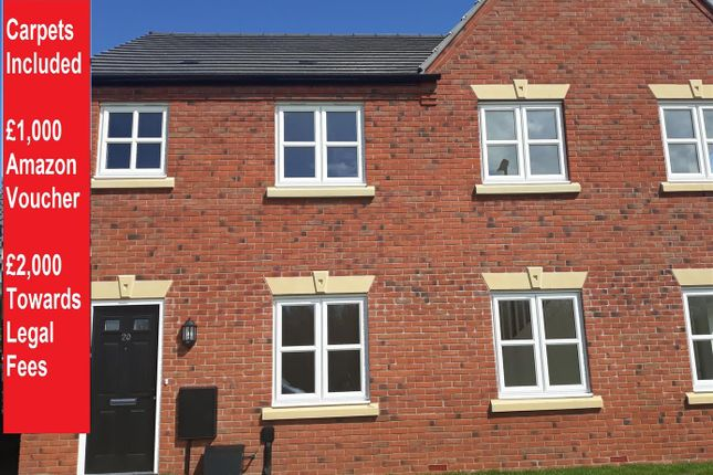 Thumbnail Terraced house for sale in Main Road, Austrey, Atherstone