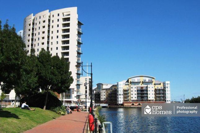 Thumbnail Flat for sale in Sirius House, Celestia, Cardiff Bay