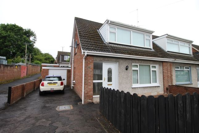 Thumbnail Semi-detached house to rent in Moss Road, Lambeg, Lisburn