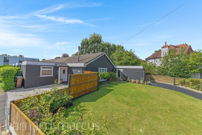 Thumbnail Semi-detached bungalow for sale in Bankside Close, Carshalton