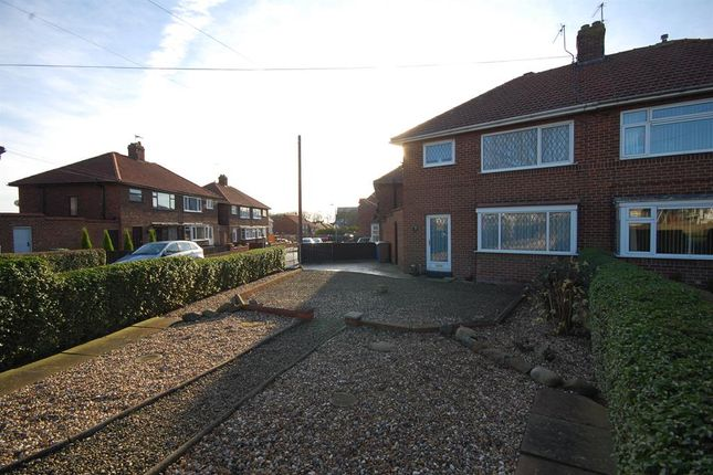 Thumbnail Semi-detached house to rent in Grange Road, Bridlington
