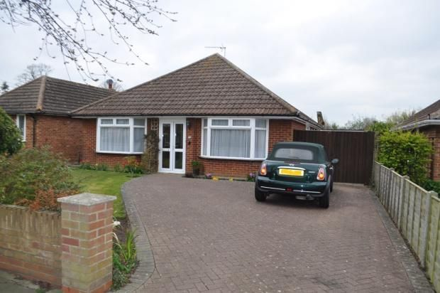 Thumbnail Detached bungalow to rent in Chelsworth Avenue, Ipswich