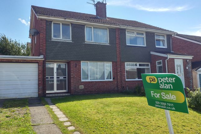 Thumbnail Semi-detached house for sale in Lon-Y-Garwa, Caerphilly