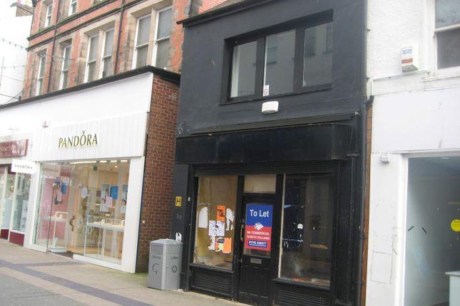 Thumbnail Retail premises to let in 244 High Street, Bangor