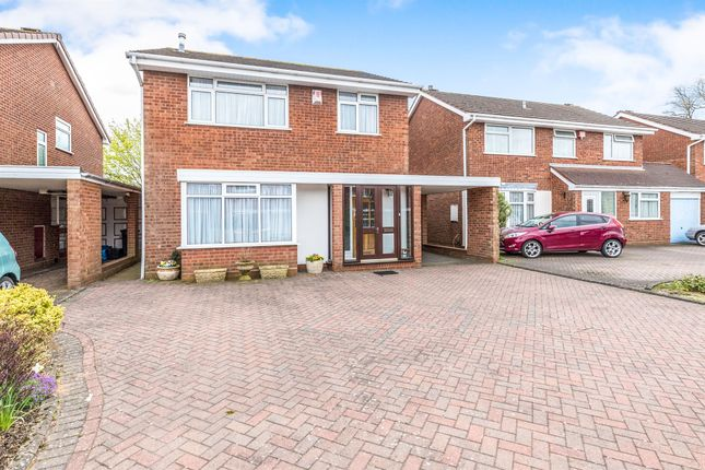Thumbnail Detached house for sale in Radcliffe Drive, Halesowen