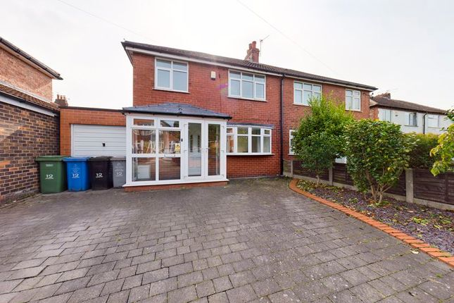 Thumbnail Semi-detached house to rent in Leamington Road, Davyhulme, Manchester