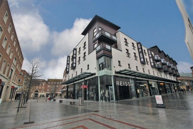 Thumbnail Flat to rent in Bedford Street, Exeter