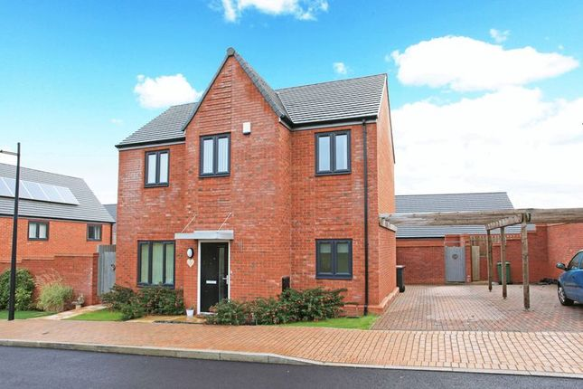 Thumbnail Detached house for sale in Tilleys Close, Lightmoor, Telford