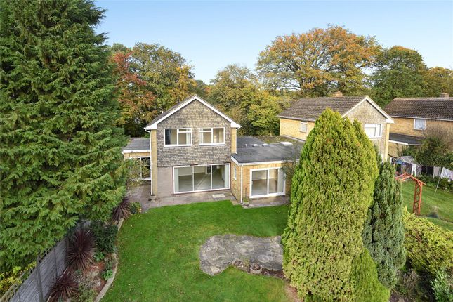 Thumbnail Detached house for sale in Mytchett Place Road, Mytchett, Camberley, Surrey