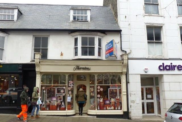 Thumbnail Retail premises to let in Reduced Rent Great Darkgate Street, Aberystwyth