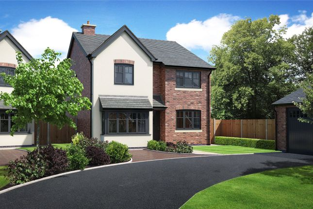 Thumbnail Detached house for sale in Plot 1 Hunters Chase, Bryn Perthi, Arddleen, Powys