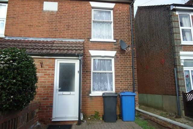 Thumbnail End terrace house to rent in York Road, Ipswich, Suffolk