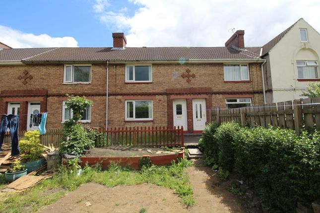 Thumbnail Terraced house to rent in Balfour Gardens, Consett