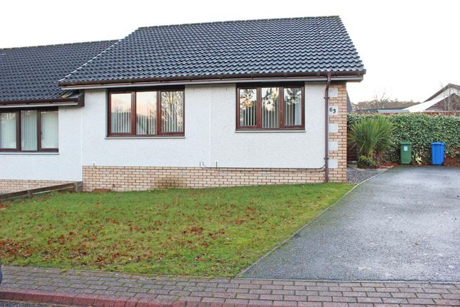 Thumbnail Semi-detached bungalow to rent in Castlehill Gardens, Inverness