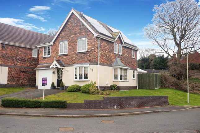 Thumbnail Detached house for sale in Bluebell Coppice, Ketley Telford