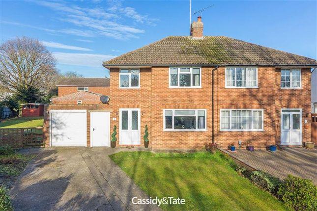 Thumbnail Semi-detached house for sale in Ellenbrook Crescent, Ellenbrook, Hertfordshire