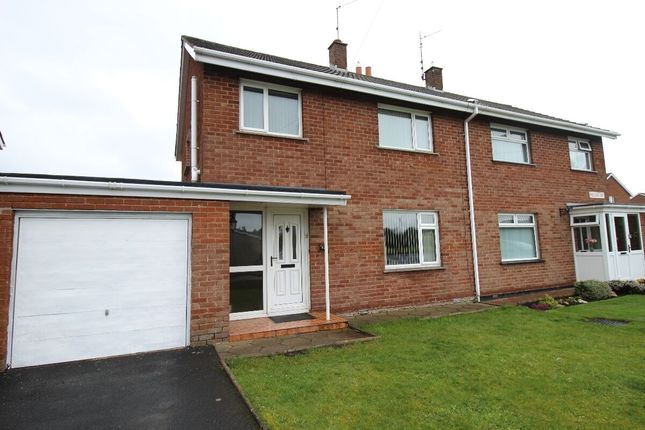 Thumbnail Semi-detached house for sale in Pollock Drive, Lurgan, Craigavon