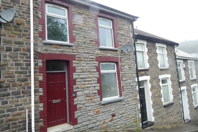 Thumbnail Terraced house to rent in Zion Terrace, Tonypandy