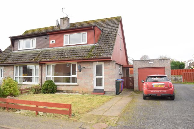 3 bed semi-detached house for sale in Thornhill Crescent, Forres