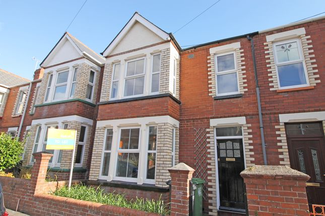 Thumbnail Terraced house to rent in Ladysmith Road, Exeter, Devon